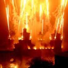 Incendio del Castello a Ferrara – Capodanno 2020